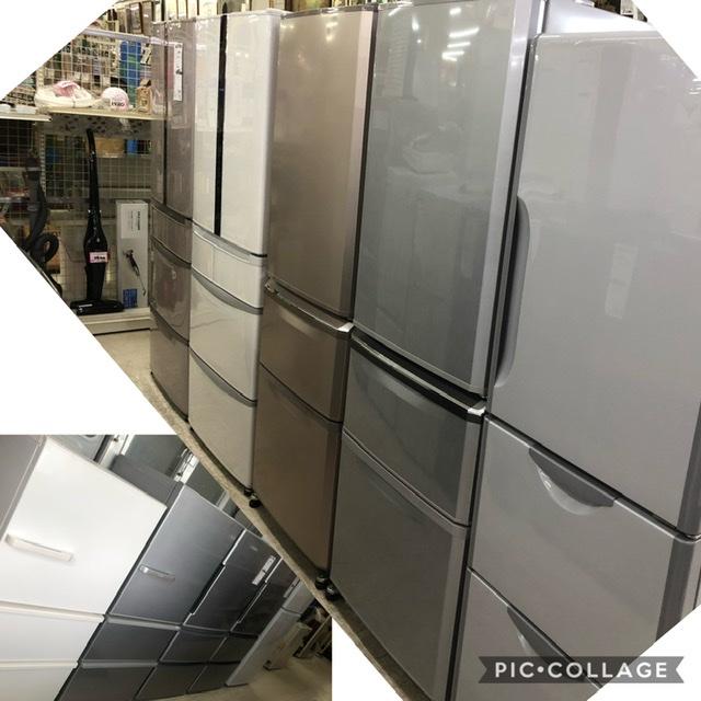 大型冷蔵庫各種入荷!!